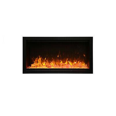 symmetry extra tall built in electric fireplace