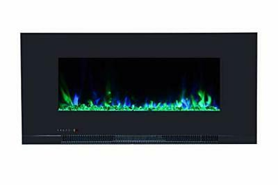 Touchstone 10-Color Recessed Wall Electric Fireplace