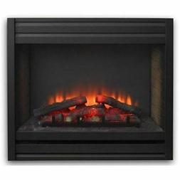 Outdoor GreatRoom Company Louver Electric Fireplace Front fo