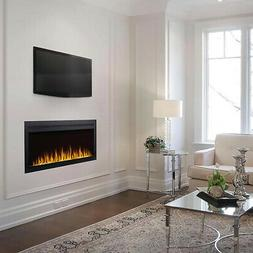 Napoleon Purview Series Linear Wall Mount Electric Fireplace