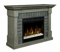 Dimplex Royce Mantel Electric Fireplace with Glass Ember Bed