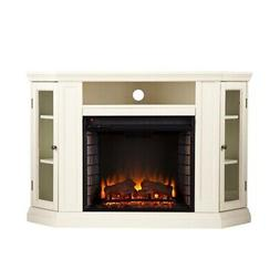 Silverado Convertible Media Fireplace, Ivory - Box 1 of 2