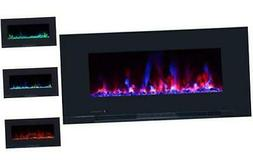 Touchstone ValueLine 10-Color Recessed Wall Electric Firepla