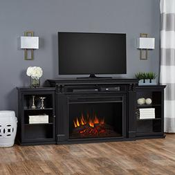 Tracey Grand Entertainment Unit with Electric Fireplace - Bl