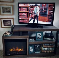 TV Stand Entertainment Center Electric Fireplace for Televis